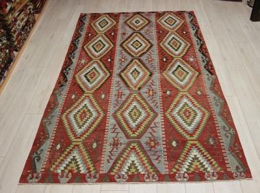 Vintage Turkish Esme Kilim Rugs R9089