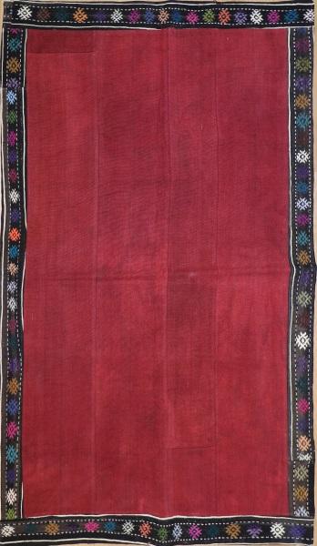 R2607 Vintage Turkish Kilim Patchwork Rug