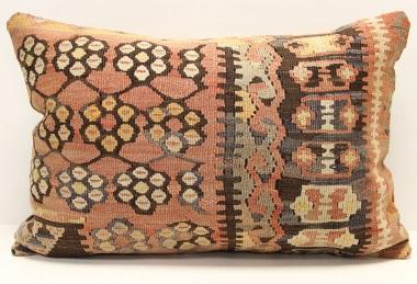 D140 Vintage Turkish Kilim Pillow Covers