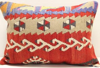 D204 Vintage Turkish Kilim Pillow Covers