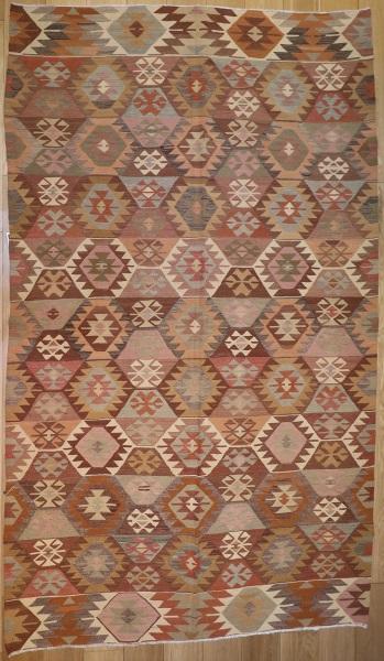 R5058 Vintage Turkish Kilim Rug