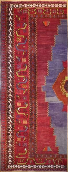 R7670 Vintage Turkish Kilim Rug