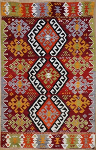 R8933 Vintage Turkish Kilim Rugs