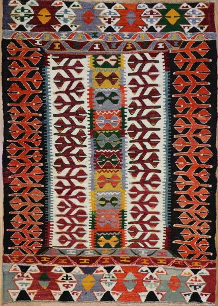 R8939 Vintage Turkish Kilim Rugs