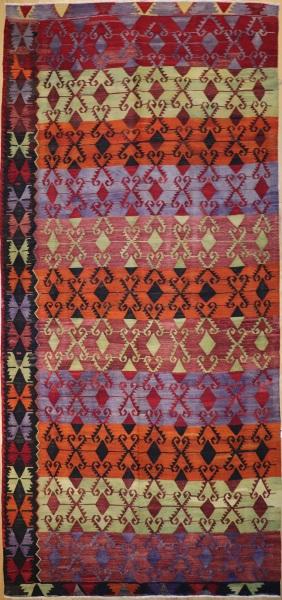 R8942 Vintage Turkish Kilim Rugs