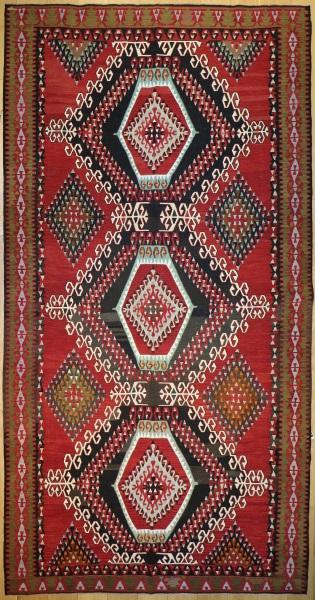 R9125 Vintage Turkish Kilim Rugs