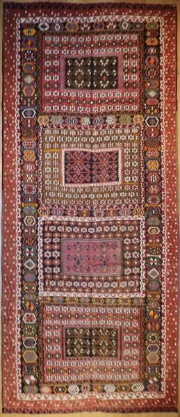 R9127 Vintage Turkish Kilim Rugs