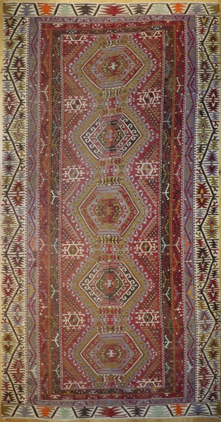 R9128 Vintage Turkish Kilim Rugs