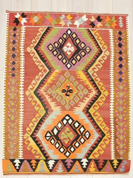 R4299 Vintage Turkish Kilim Rugs