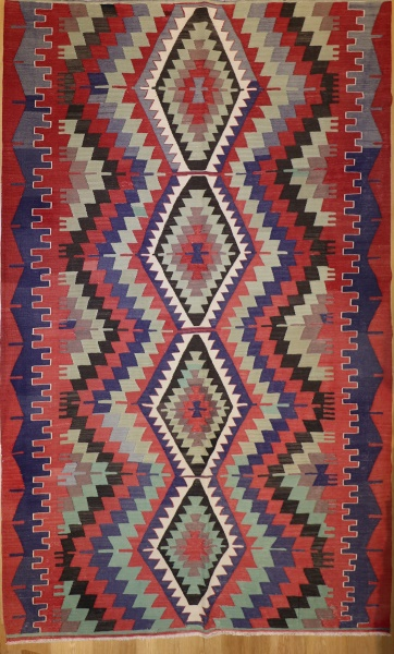 R7091 Vintage Turkish Kilim Rugs