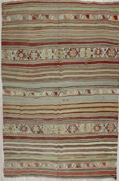 R6826 Vintage Turkish Kilim Rugs