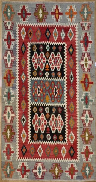 R7874 Vintage Turkish Kilim Rugs