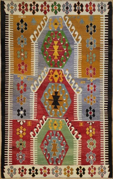 R7876 Vintage Turkish Kilim Rugs