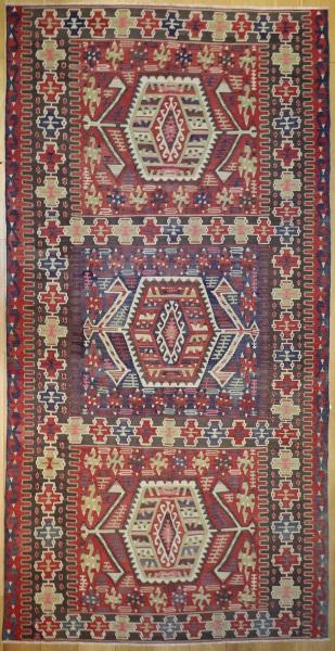 R8152 Vintage Turkish Kilim Rugs