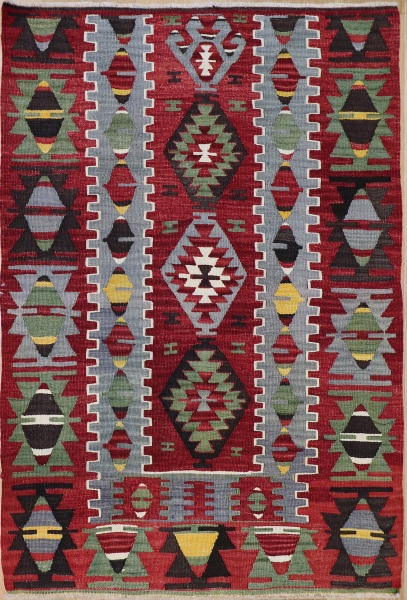 R8222 Vintage Turkish Kilim Rugs