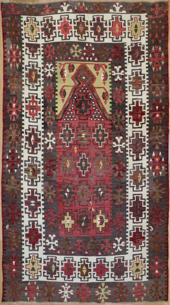 R8233 Vintage Turkish Kilim Rugs