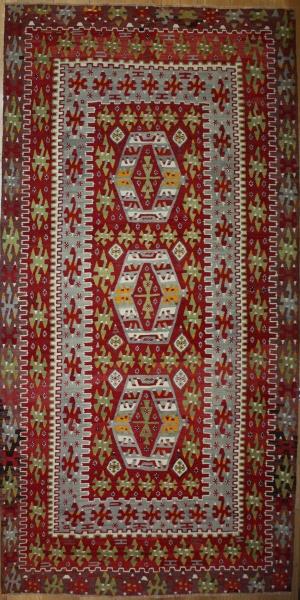 R8235 Vintage Turkish Kilim Rugs