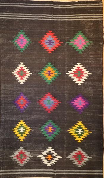 R8580 Vintage Turkish Kilim Rugs