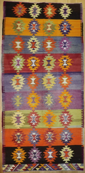 R8788 Vintage Turkish Kilim Rugs