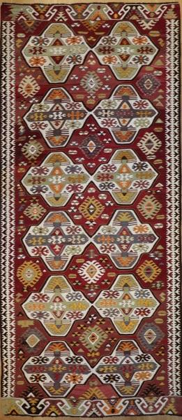 R7863 Vintage Turkish Kilim Rugs UK