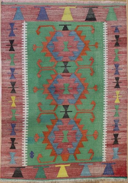 R6341 Vintage Turkish Kilims