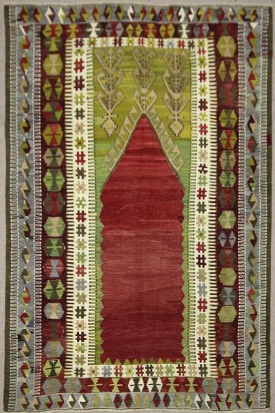 Vintage Turkish Konya Kilim Rugs R7862