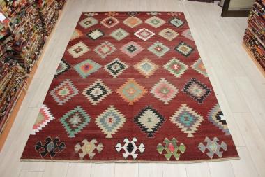 Vintage Turkish Koprubasi Kilim Rug R9079