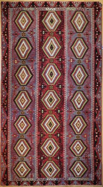 R7884 Vintage Turkish Large Kilim Rugs