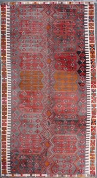 Vintage Turkish Large Kilim Rugs R7519