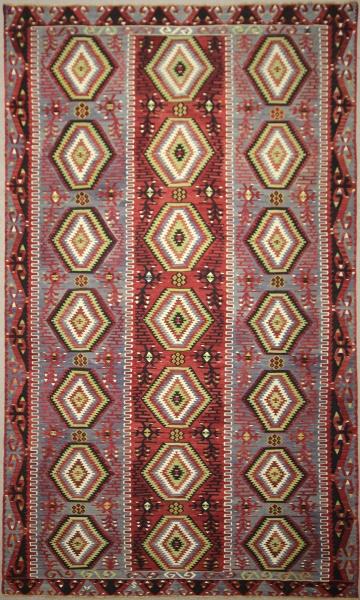 Vintage Turkish Large Kilim Rugs R7884