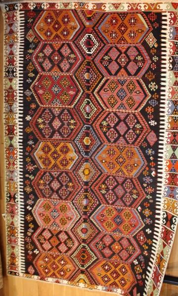 Vintage Turkish Large Kilim Rugs R8012