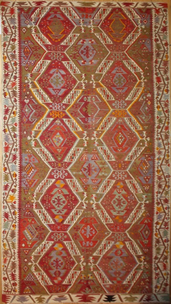 Vintage Turkish Large Kilim Rugs R8014