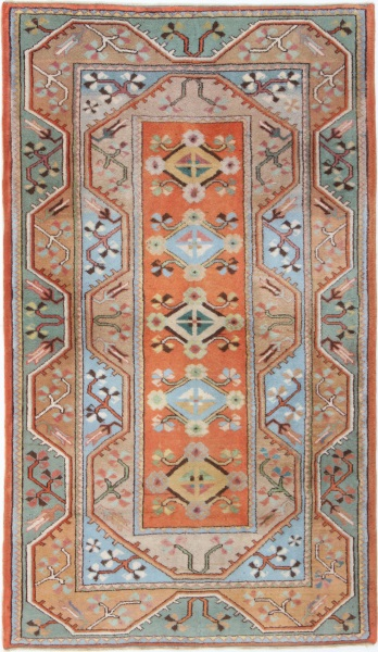 R1514 Vintage Turkish Milas Carpets