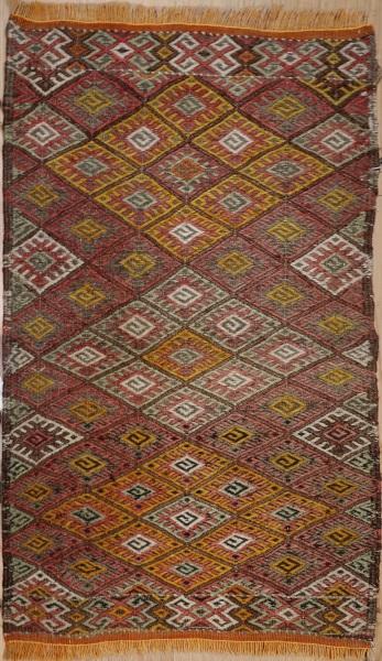 R756 Vintage Turkish Sivas Kilim Rugs
