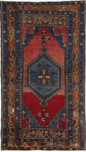 R8781 Vintage Turkish Yahyali Rugs