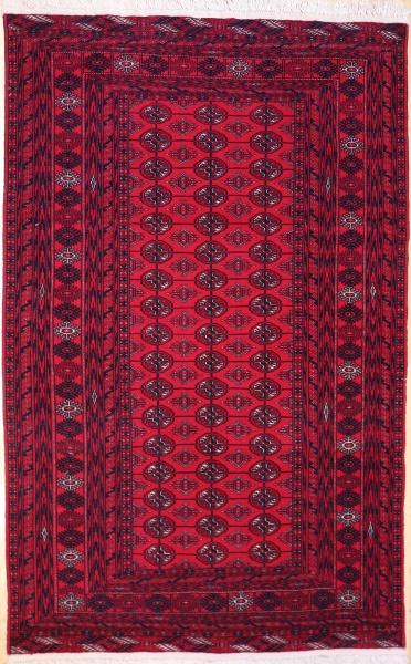 R5778 Vintage Turkmenistan Tekke Rug
