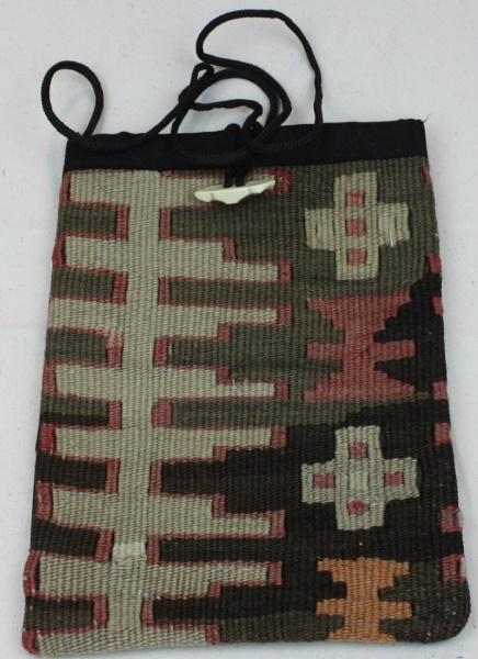 Wonderful Anatolian Kilim Handbag H63