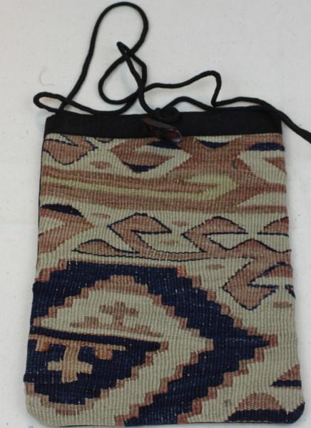 Wonderful Antique Kilim Handbag H53