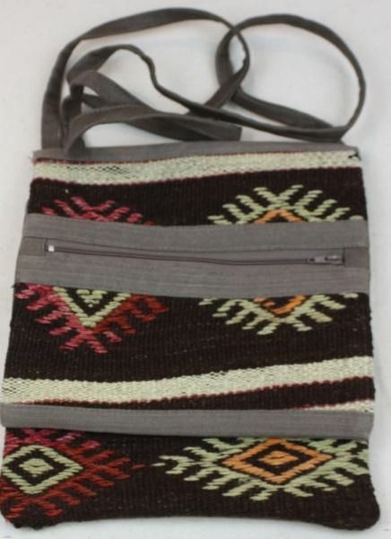 Wonderful Antique Kilim Handbag H57