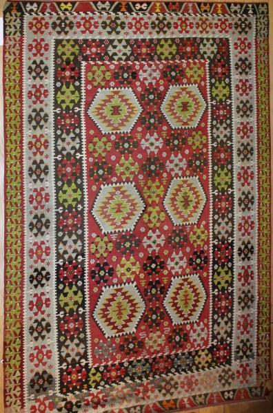 R8001 Wonderful collection of Turkish Esme Kilim Rug