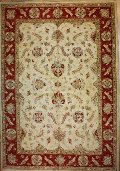 Wonderful Hand Woven Persian Ziegler Carpets R7546