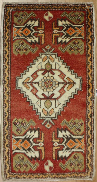 Wonderful Hand Woven Turkish Rug R7210