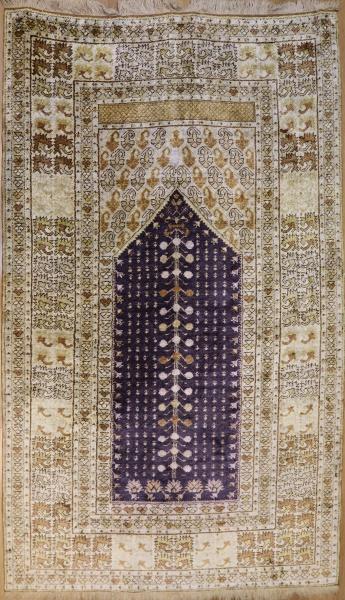 R7762 Turkish Silk Ghiordes Carpet
