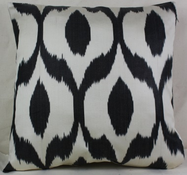i5 Silk Ikat Cushion Cover