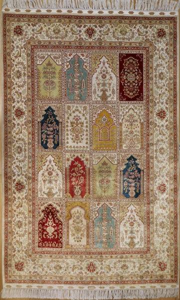 R7972 Turkish Silk Carpets