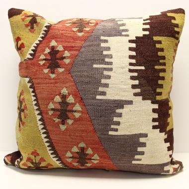 Wonderful Vintage Kilim Cushion Cover XL108