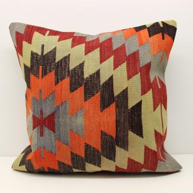 Wonderful Vintage Kilim Cushion Cover XL474
