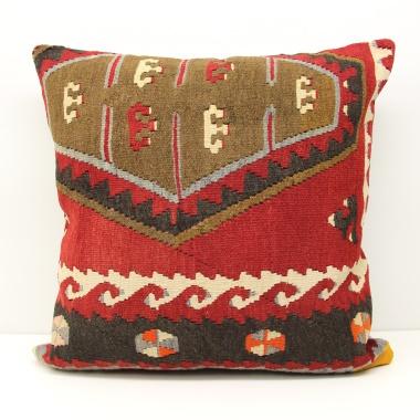 Wonderful Vintage Kilim Cushion Cover XL475