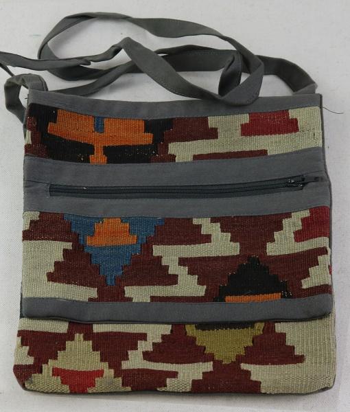 Wonderful Vintage Kilim Handbag H96