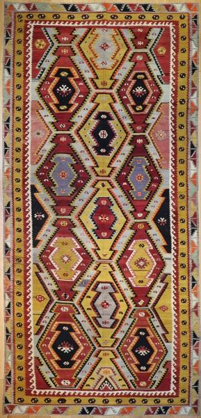 R7826 Wonderful Vintage Turkish Kilims
